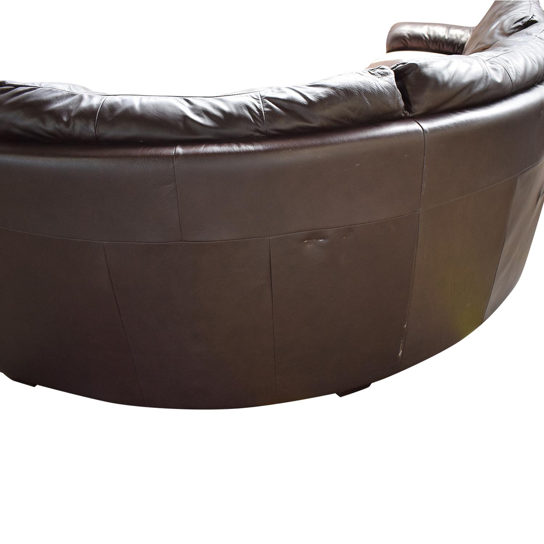 IKEA Three Cushion Wedge Sectional Sofa / Sofas