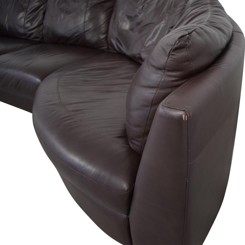 buy  IKEA Three Cushion Wedge Sectional Sofa online
