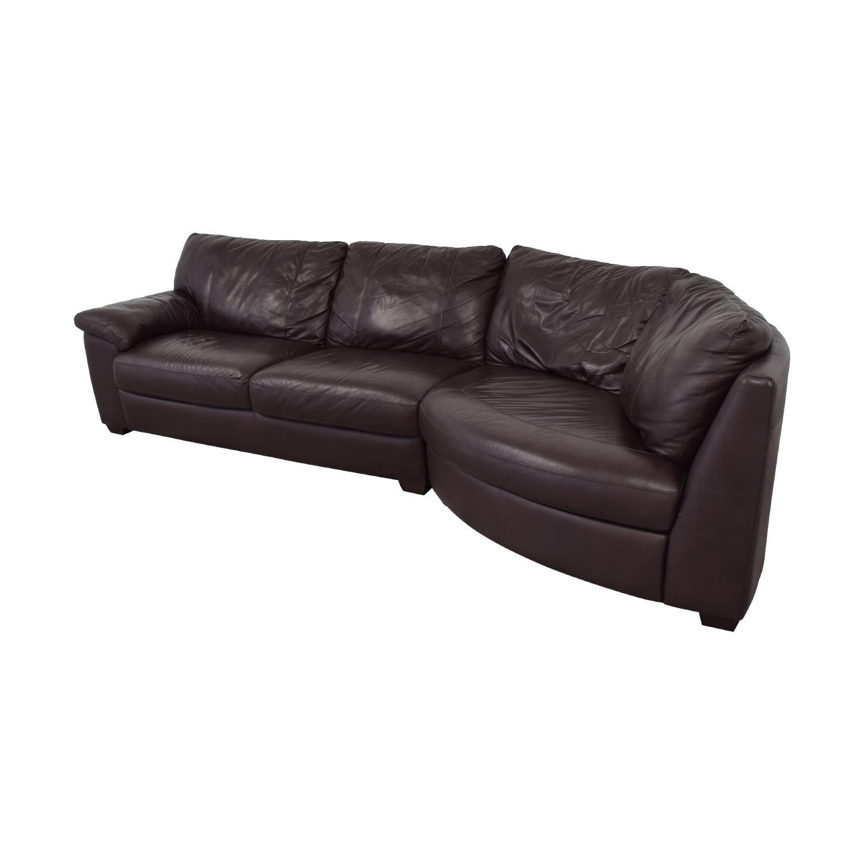 IKEA Three Cushion Wedge Sectional Sofa Sectionals