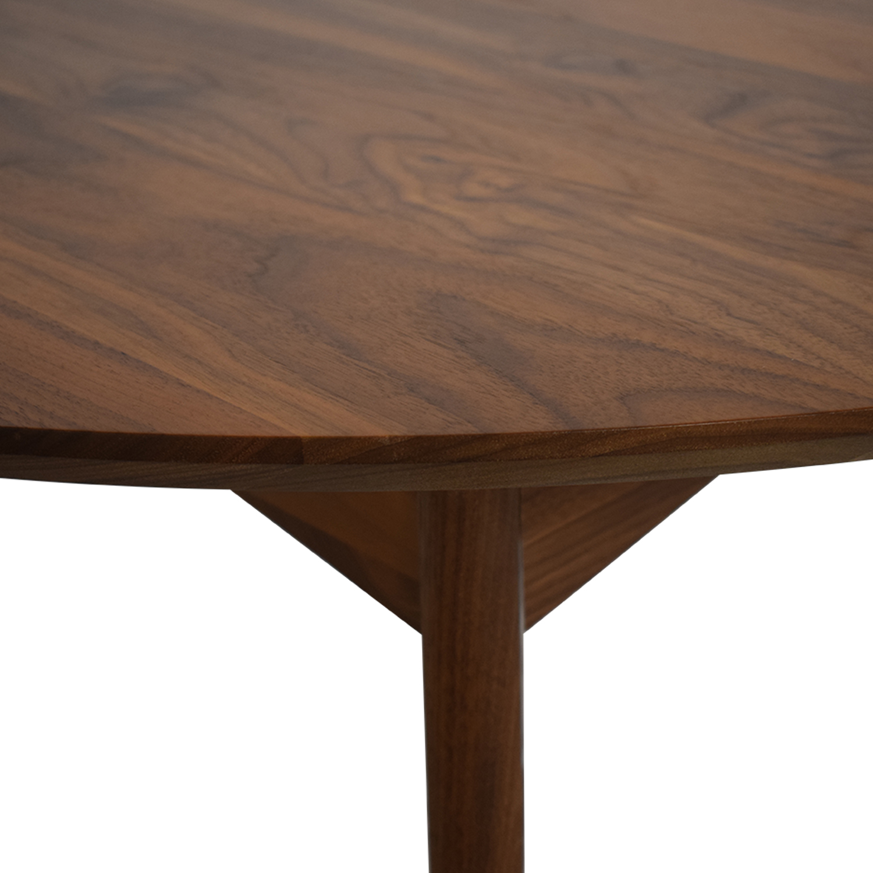 shop Room & Board Ventura Round Extension Table Room & Board