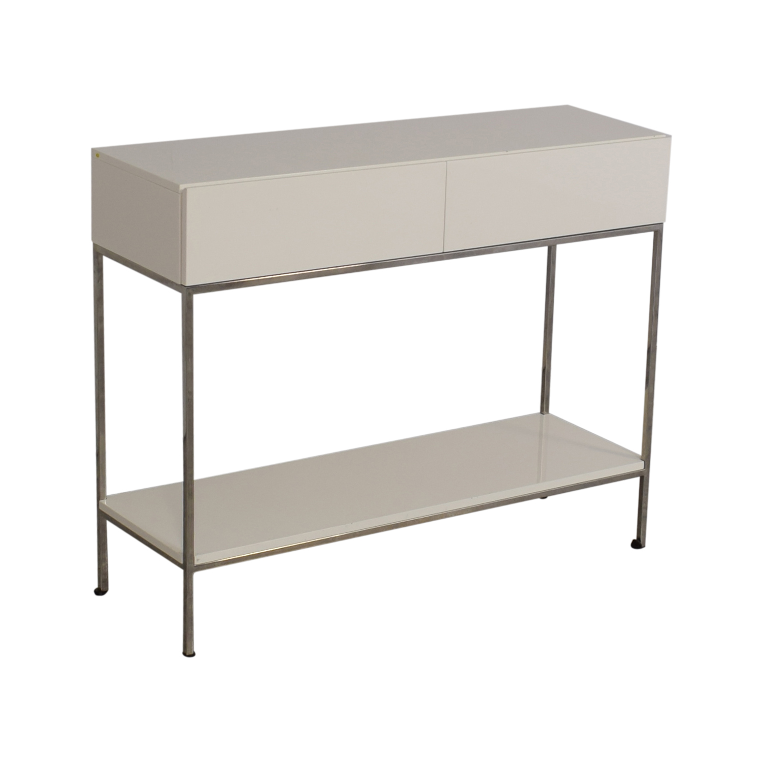 buy West Elm Lacquer Storage Console West Elm Tables