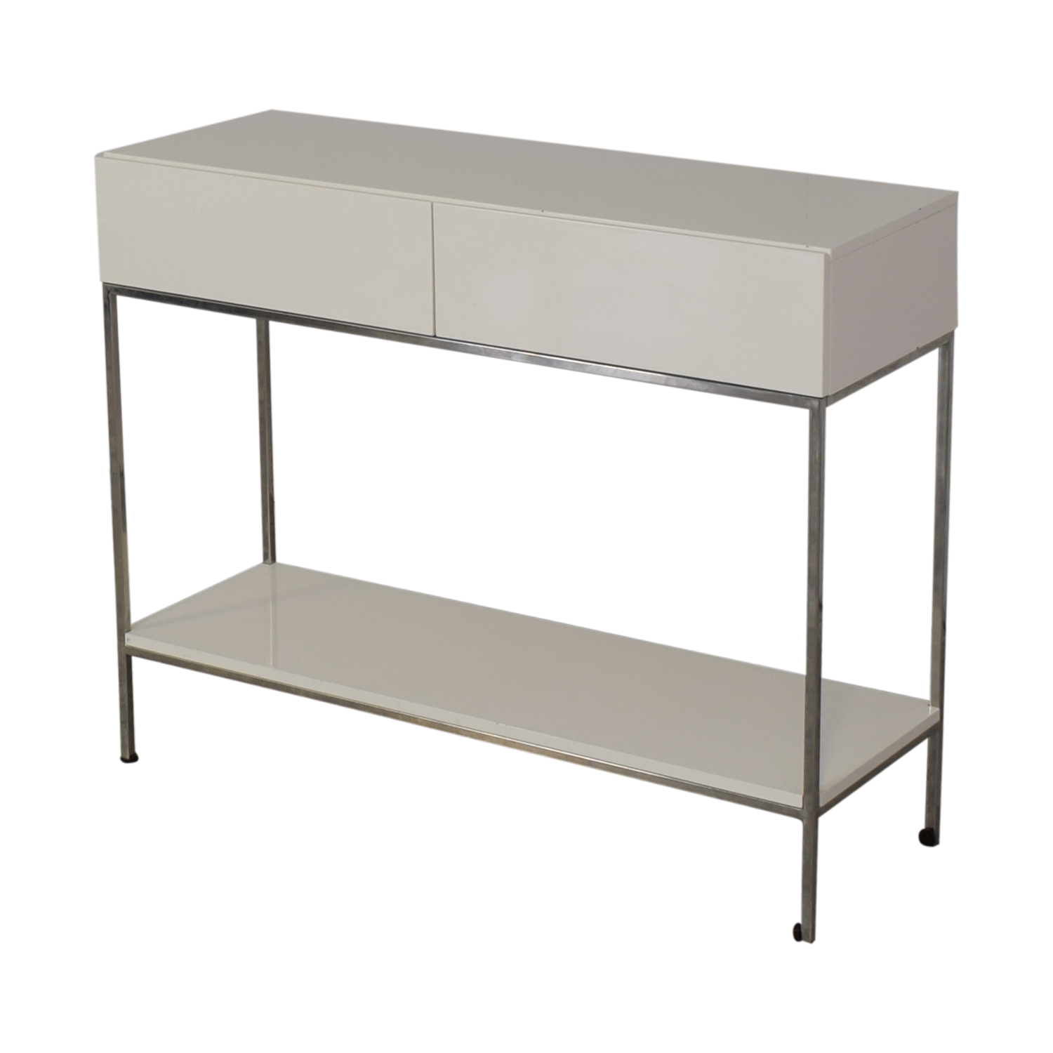 West Elm Lacquer Storage Console / Accent Tables