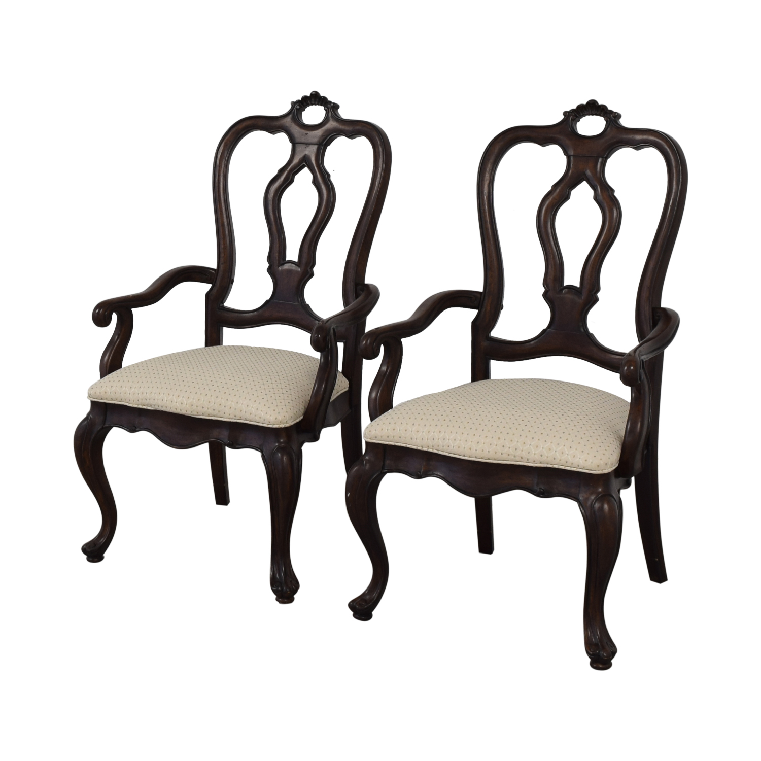 shop Thomasville Thomasville San Martino Dining Arm Chairs online