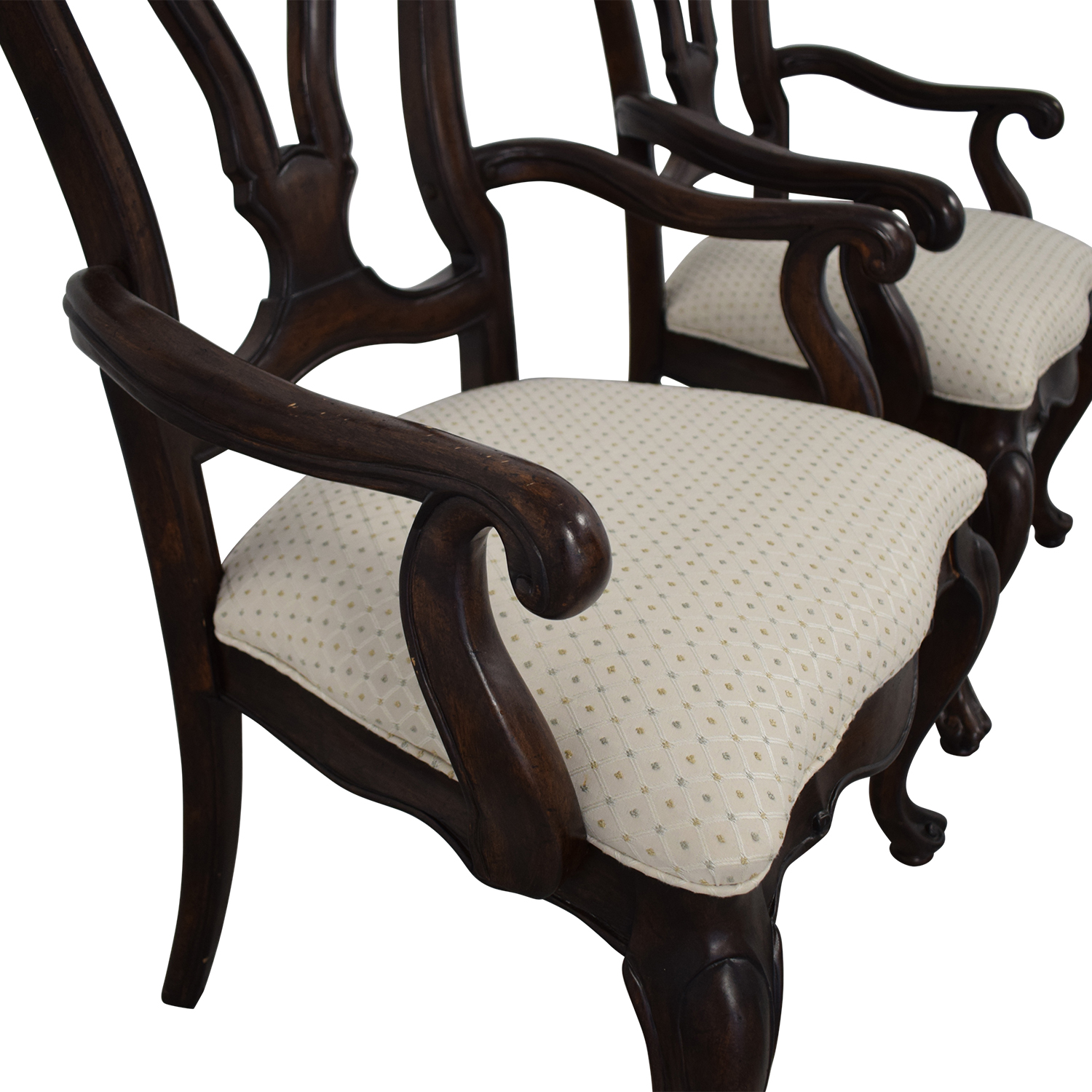 Thomasville San Martino Dining Arm Chairs / Dining Chairs