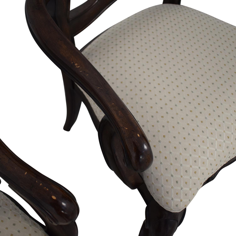 shop Thomasville San Martino Dining Arm Chairs Thomasville Dining Chairs