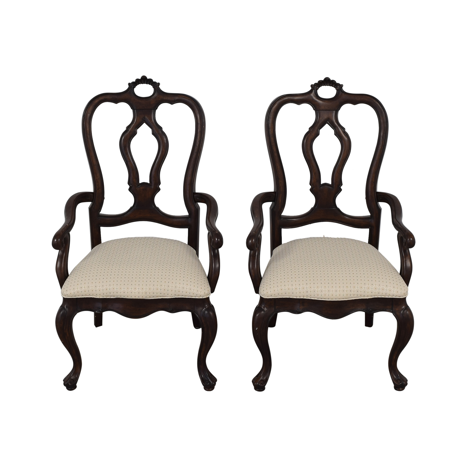 Thomasville Thomasville San Martino Dining Arm Chairs nj