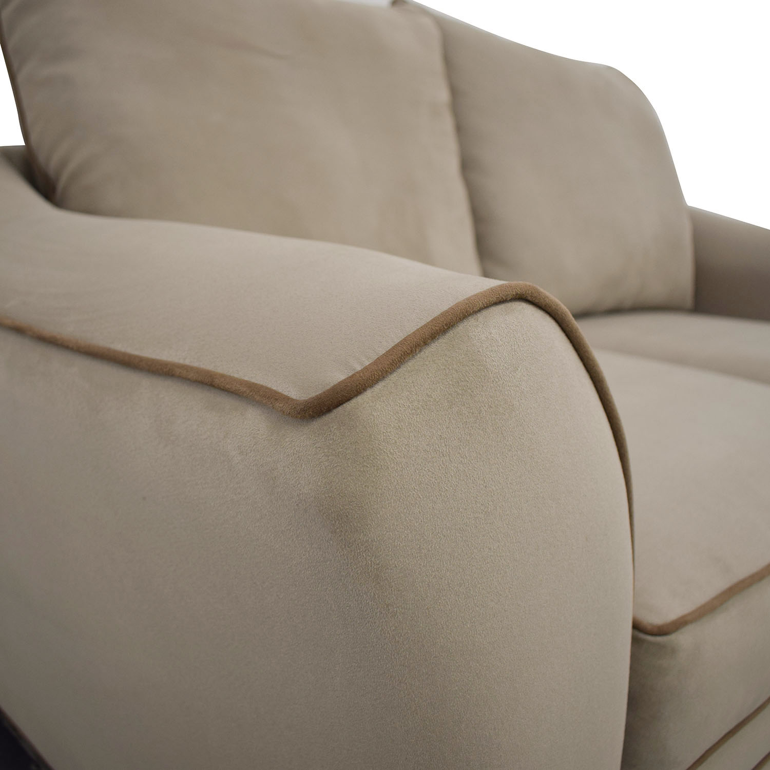 Raymour & Flanigan Raymour & Flanigan Blairwood Microfiber Loveseat dimensions