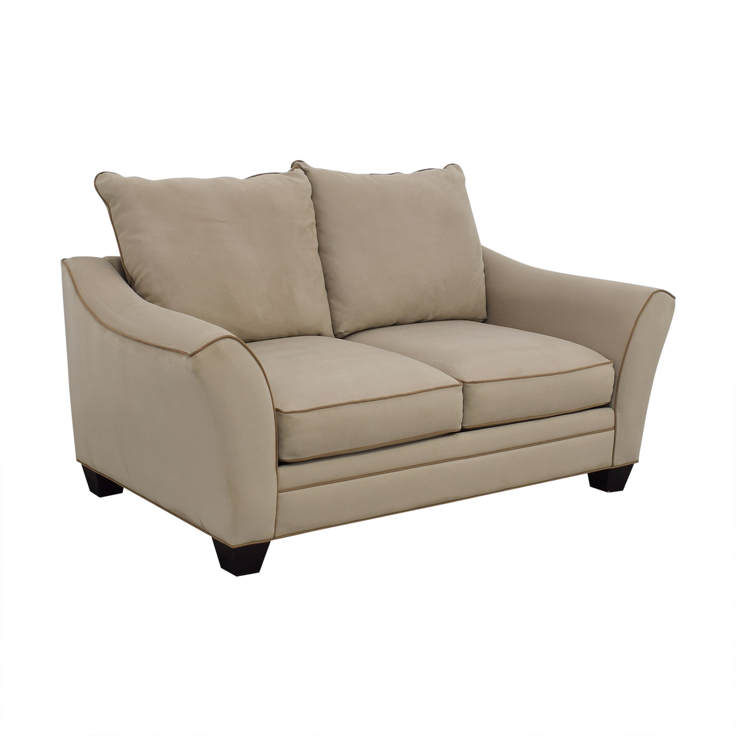 Raymour & Flanigan Raymour & Flanigan Blairwood Microfiber Loveseat on sale
