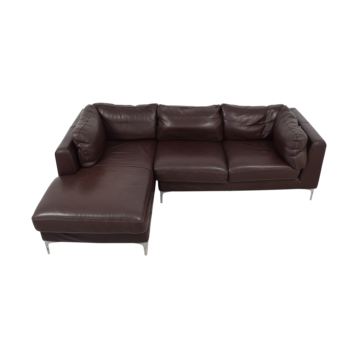 Design Within Reach Design Within Reach Nicoletti Chaise Sectional Sofa second hand