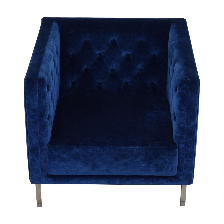 shop CB2 Savile Mariner Chair CB2