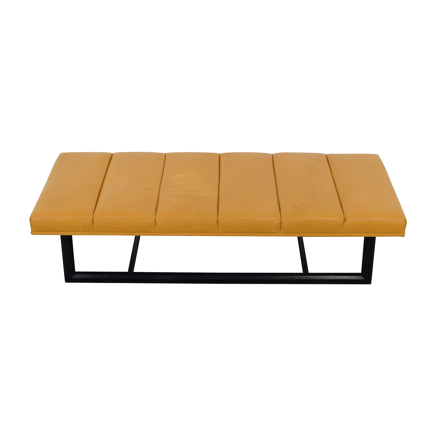 Bright Bright Leather Bench Benches