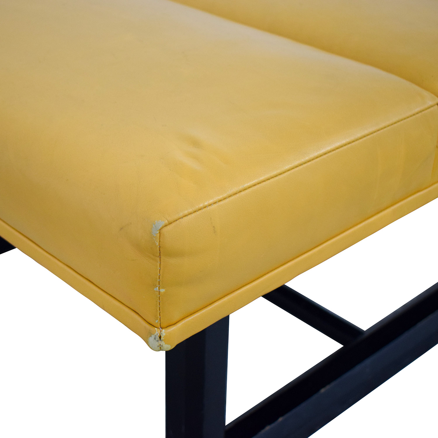 Bright Bright Leather Bench