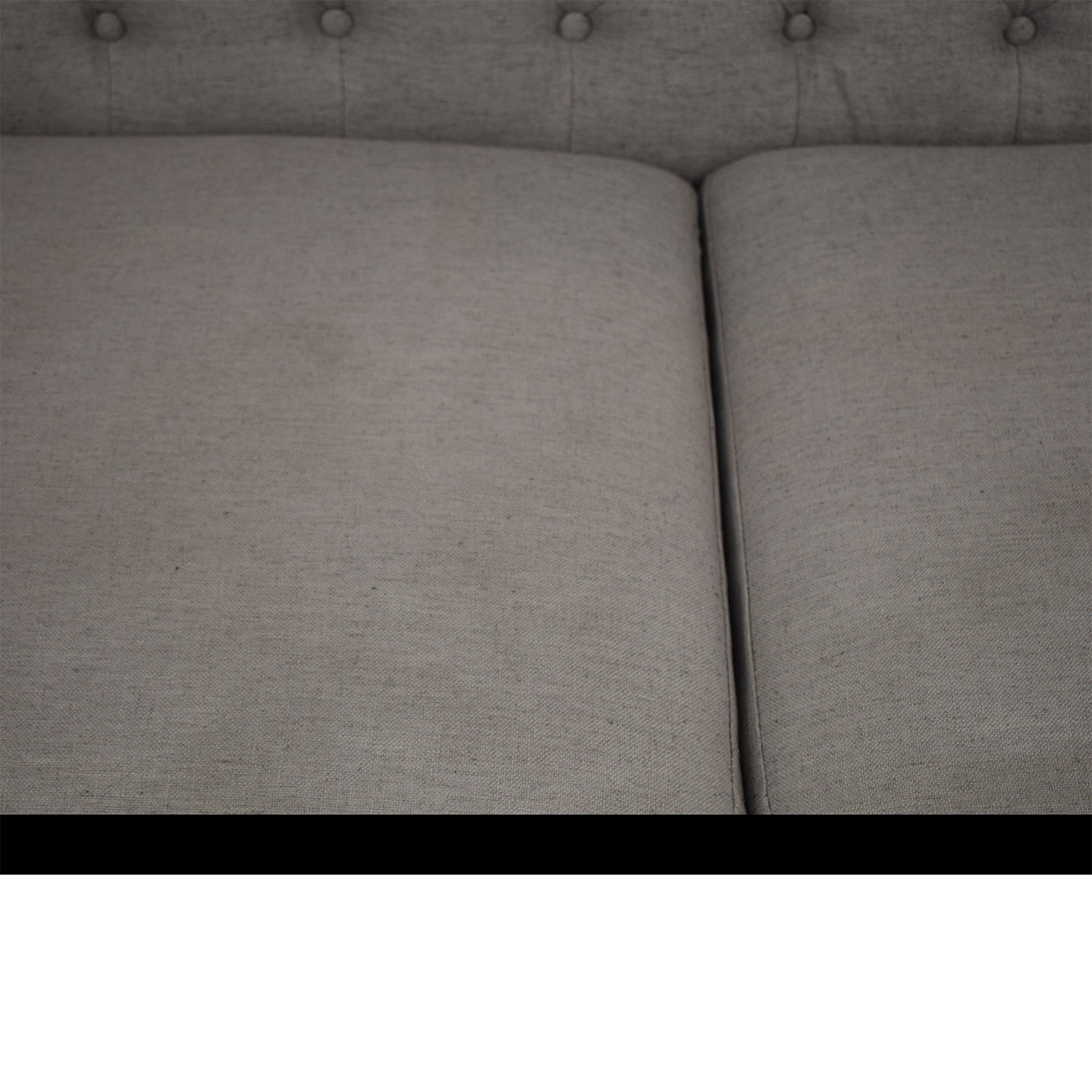shop CB2 Savile Taylor Tufted Sofa CB2