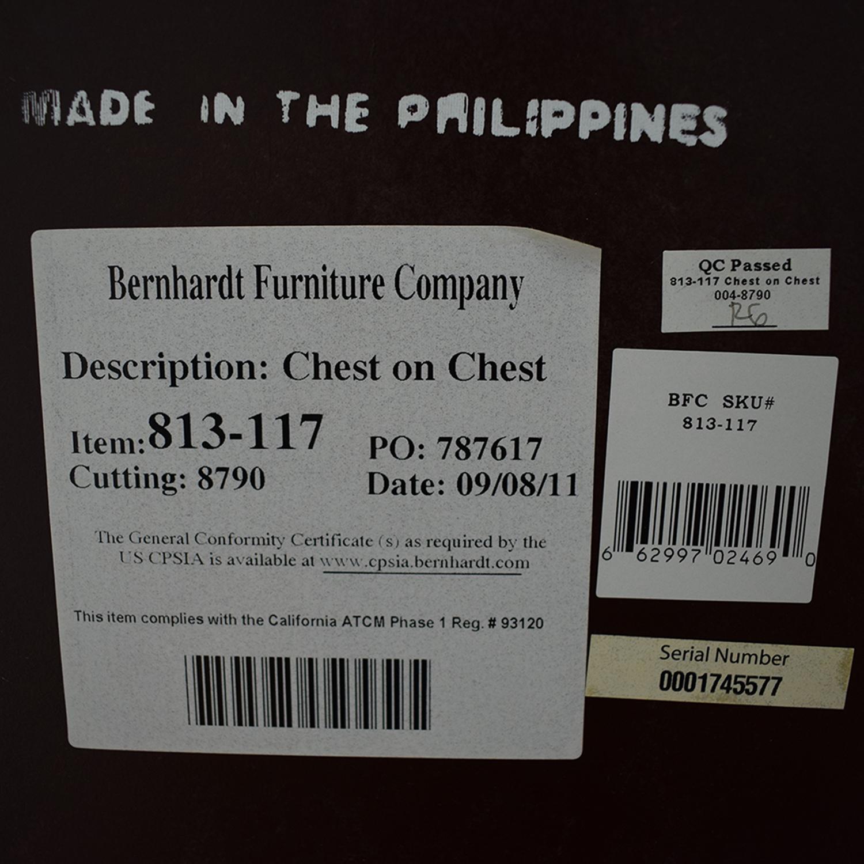 Bernhardt Bernhardt Hudson Park Collection Chest on Chest Dresser nj