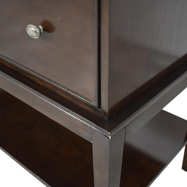 buy Bernhardt Hudson Park Collection Chest on Chest Dresser Bernhardt Storage