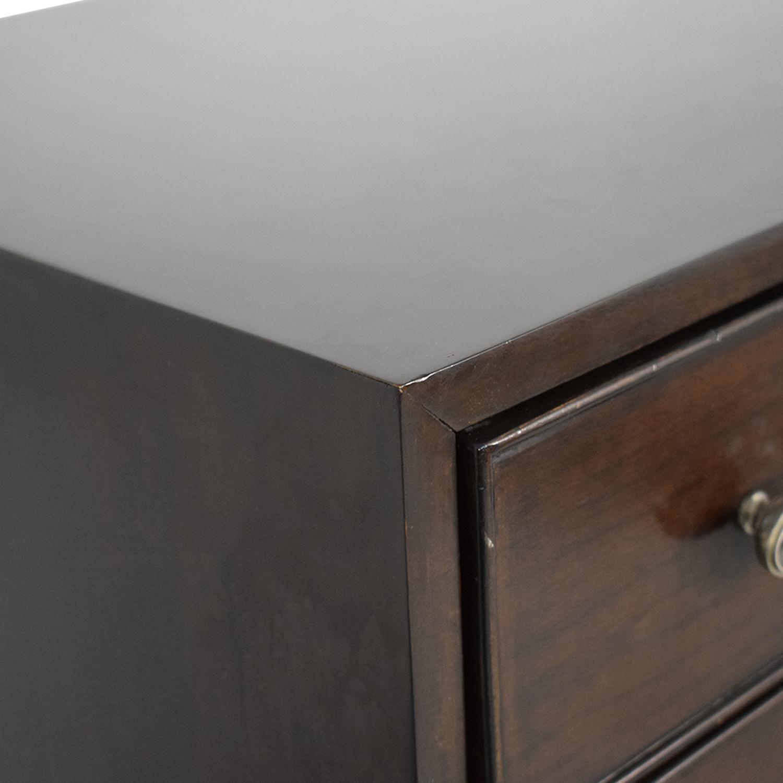shop Bernhardt Hudson Park Collection Chest on Chest Dresser Bernhardt