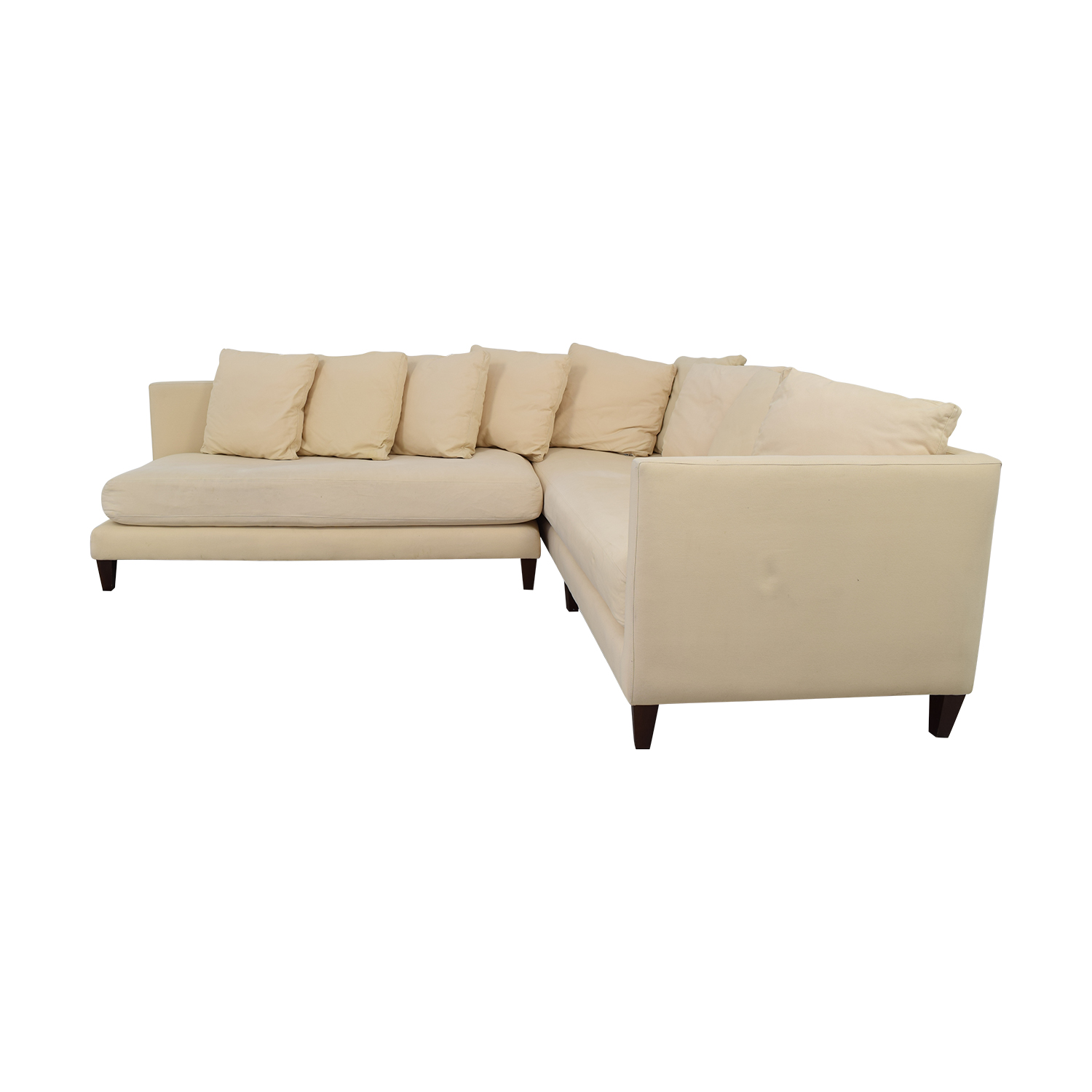 Crate & Barrel Crate & Barrel Sectional on sale