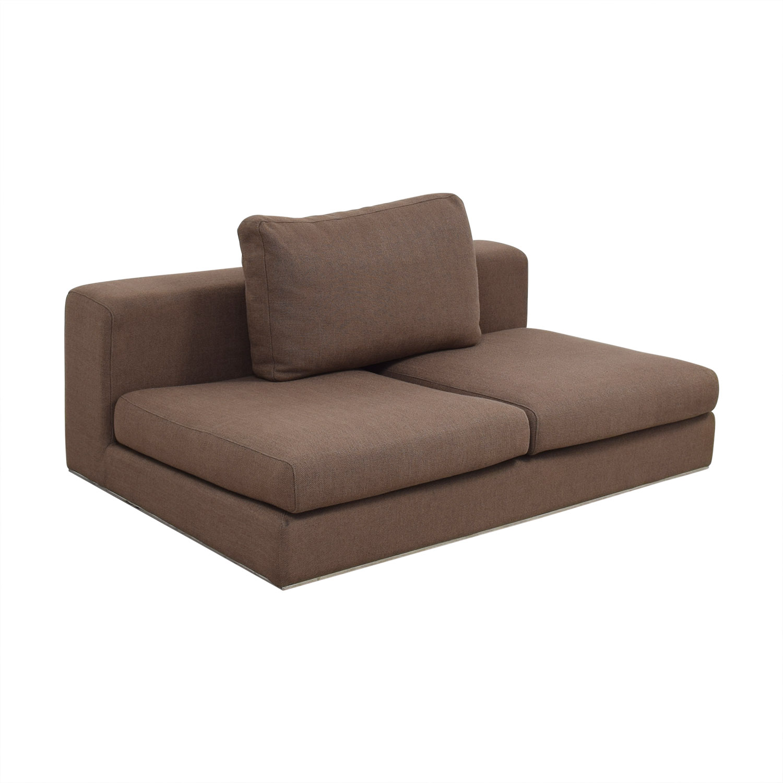 shop Interior Define Walters Armless Sofa Interior Define Sofas