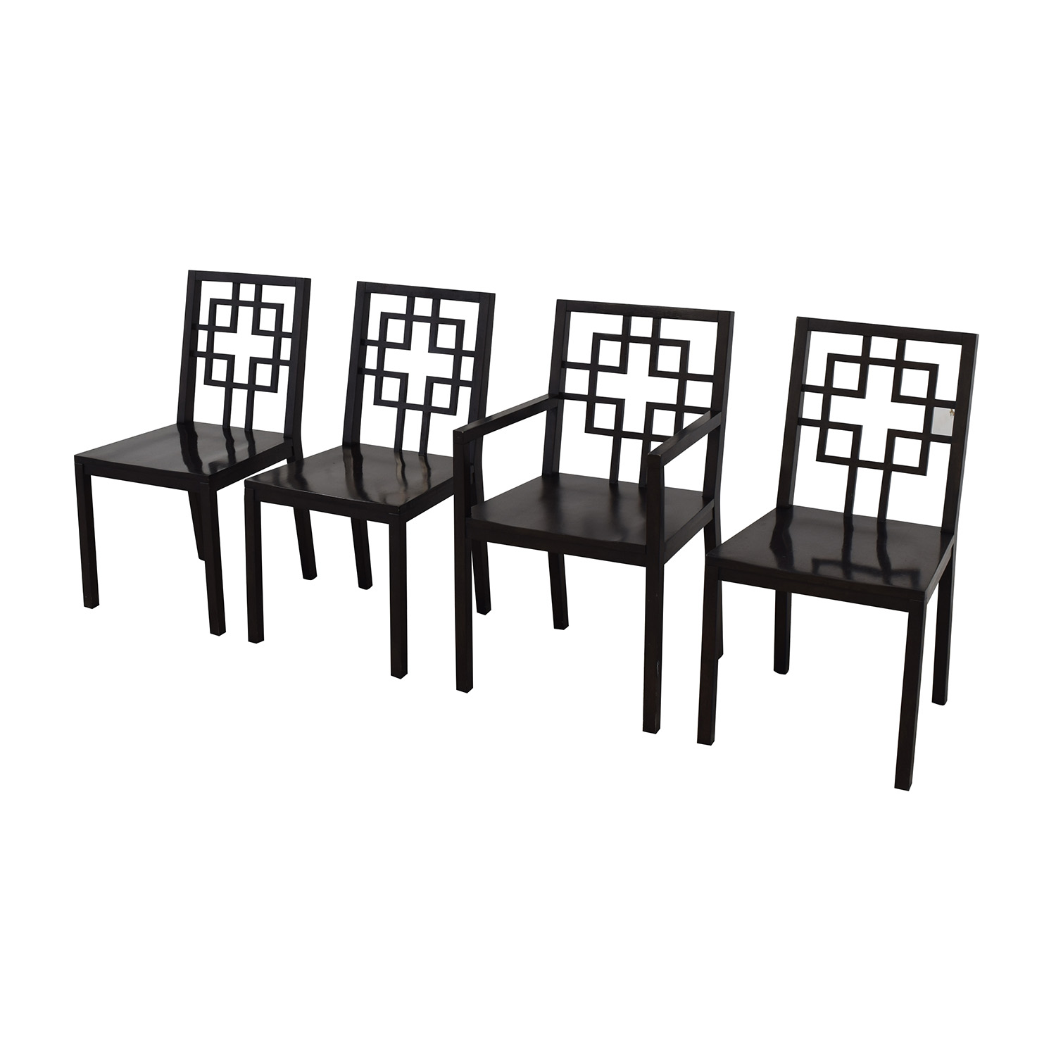 West Elm West Elm Overlapping Squares Chairs ma