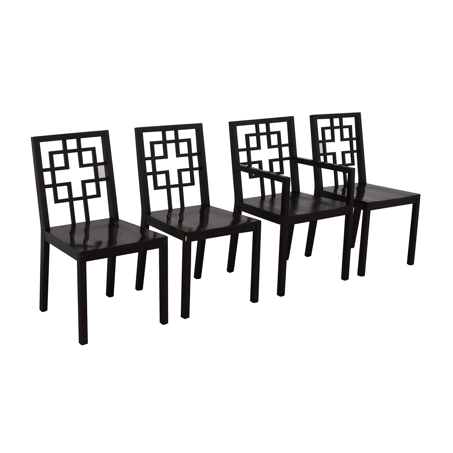 West Elm West Elm Overlapping Squares Chairs nj
