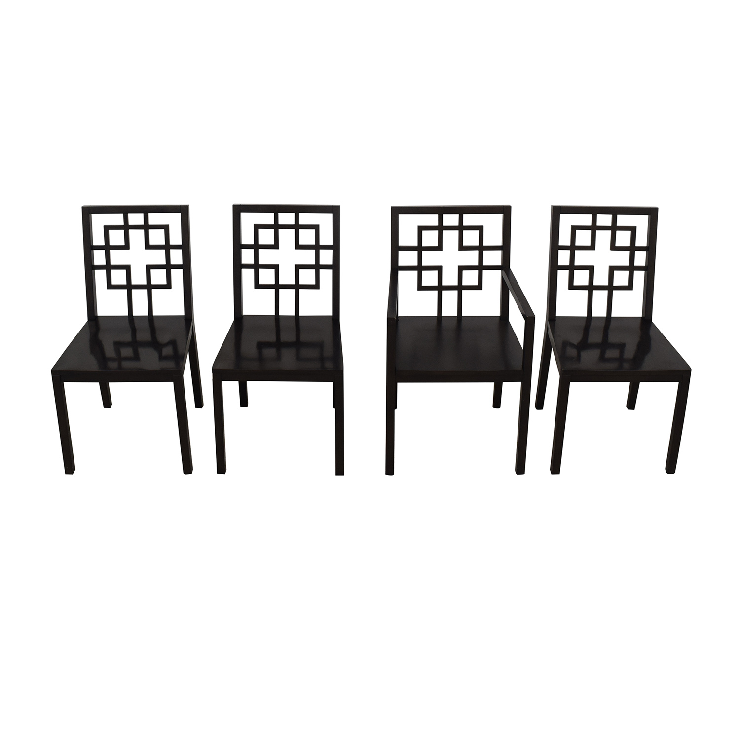 West Elm West Elm Overlapping Squares Chairs on sale