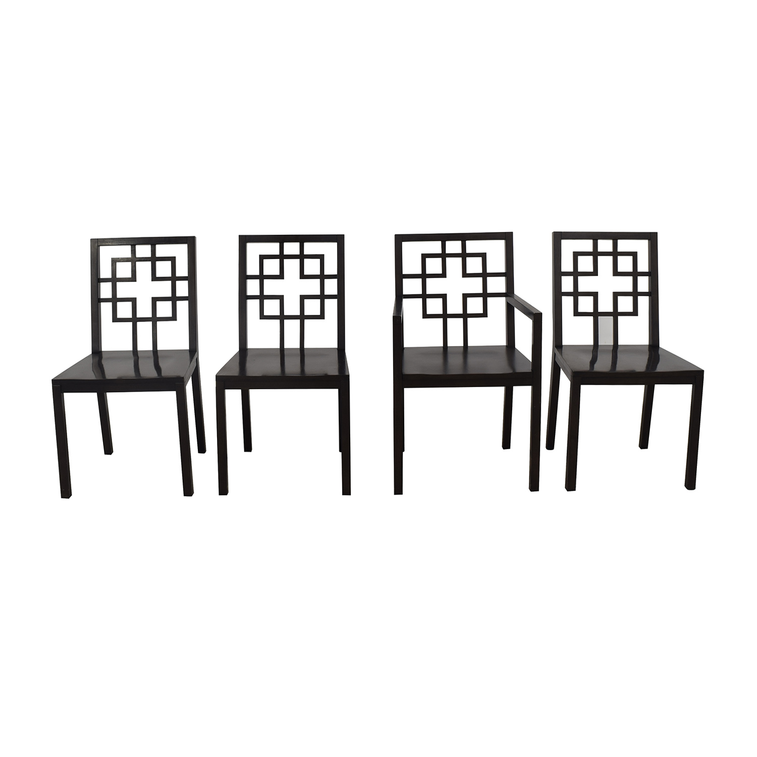 shop West Elm Overlapping Squares Chairs West Elm