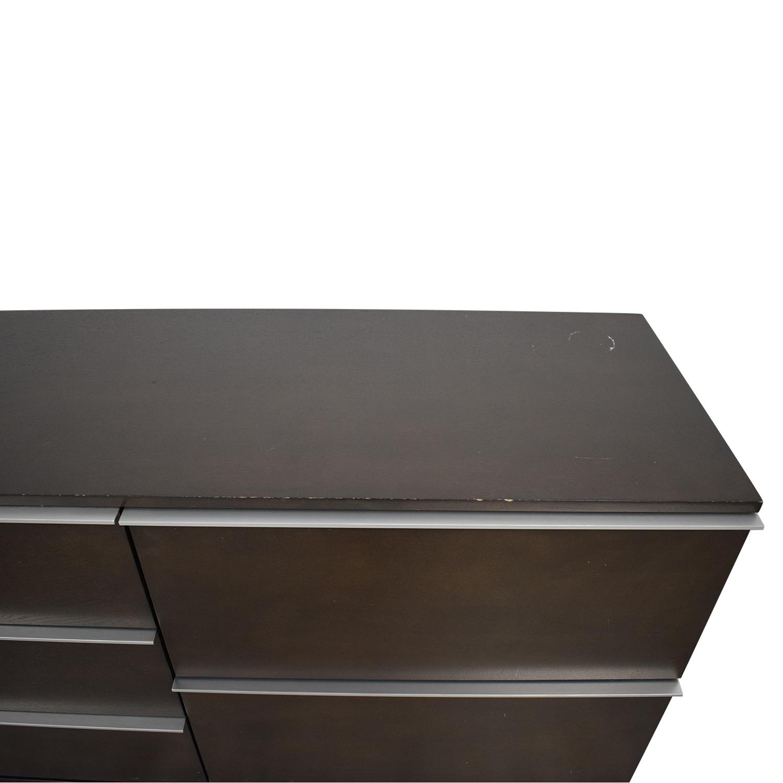 West Elm Nickel Inlay Dresser / Storage