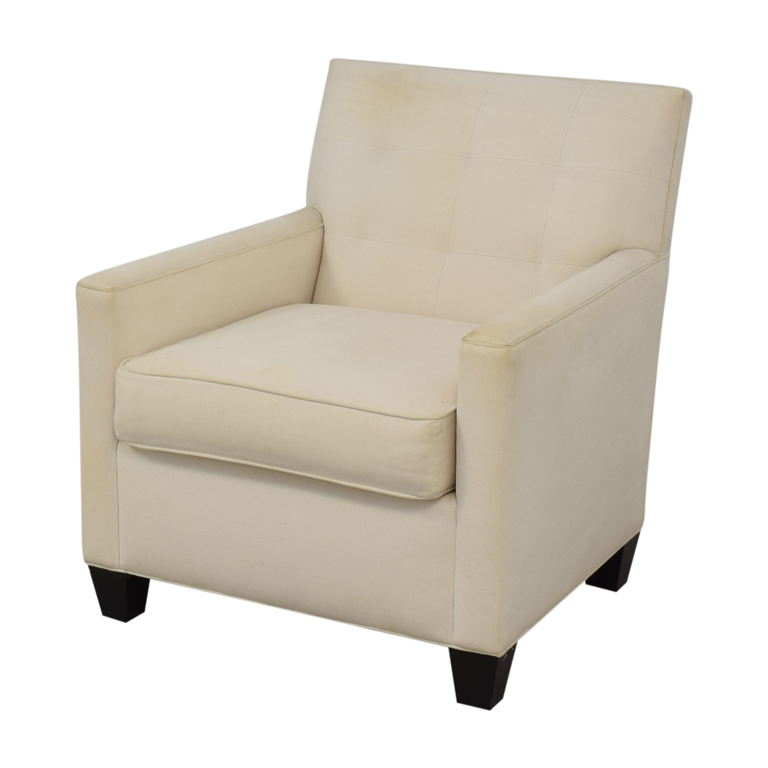 shop Nathan Anthony Tufted Lounge Chair Nathan Anthony Chairs
