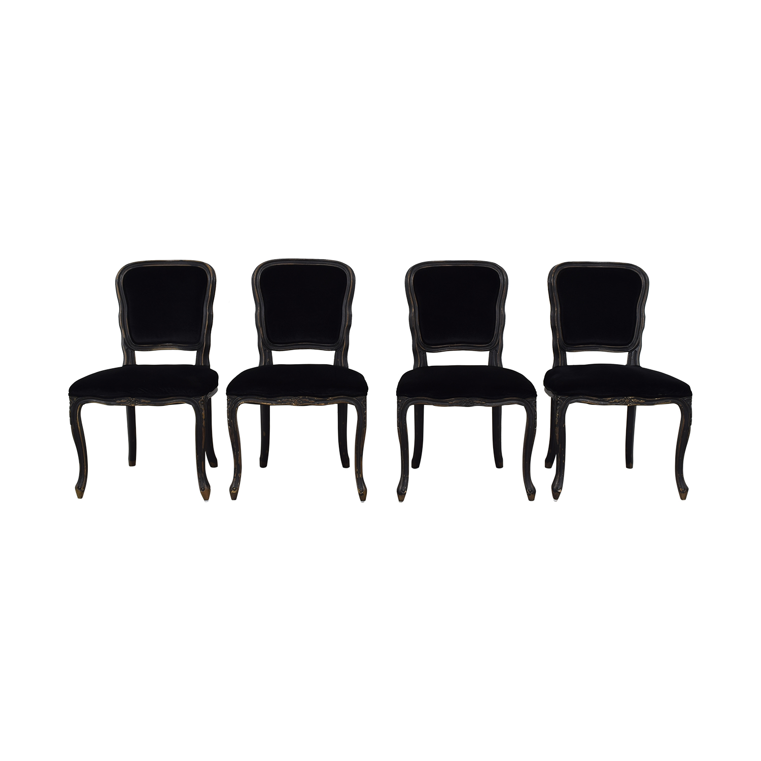 Parker House Dining Chairs black