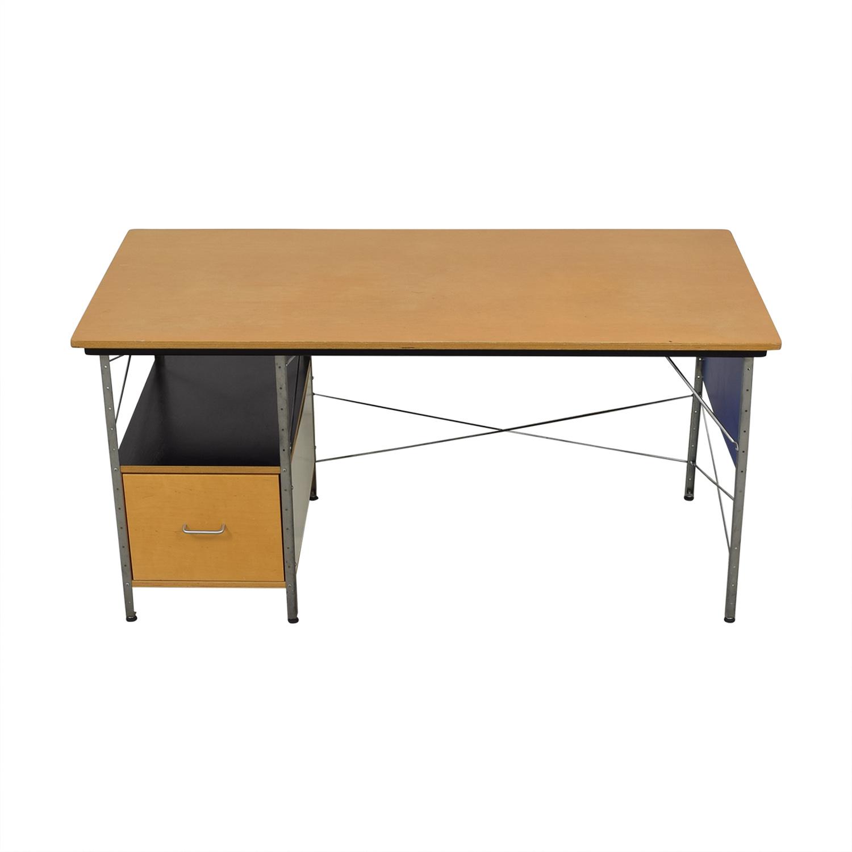 shop Herman Miller Eames Desk Unit in Multicolor Herman Miller