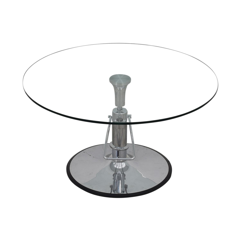 Hydra Designs Hydra Adjustable Glass Table nyc