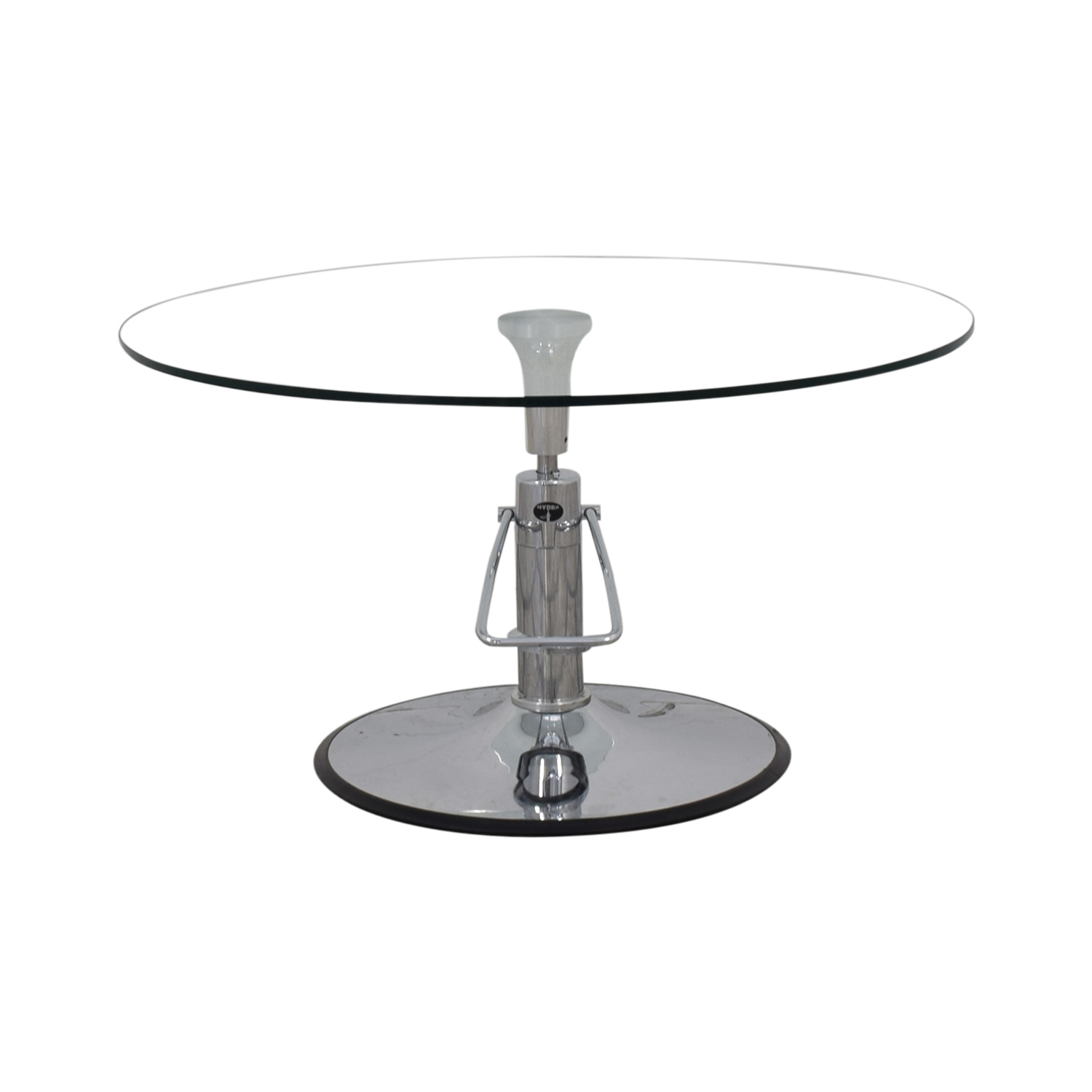 buy Hydra Adjustable Glass Table Hydra Designs Dinner Tables