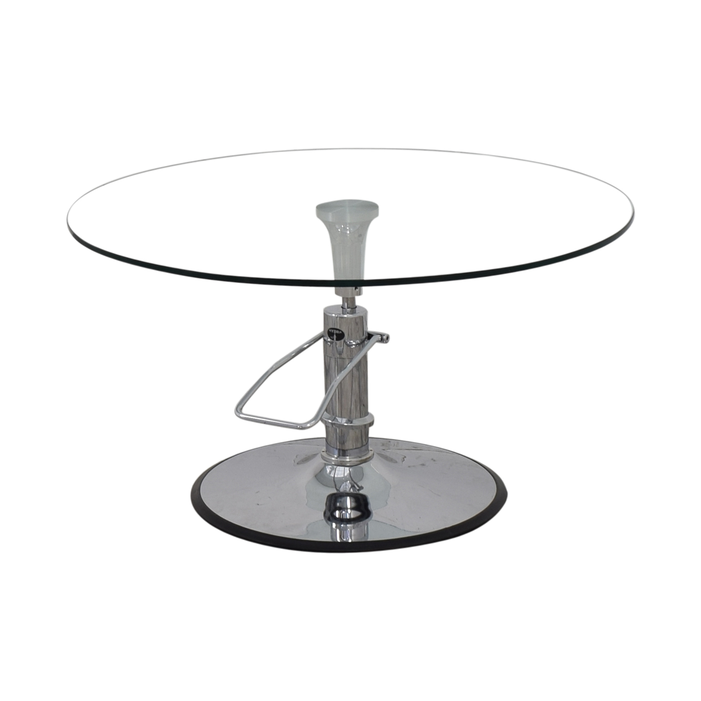 Hydra Designs Hydra Adjustable Glass Table