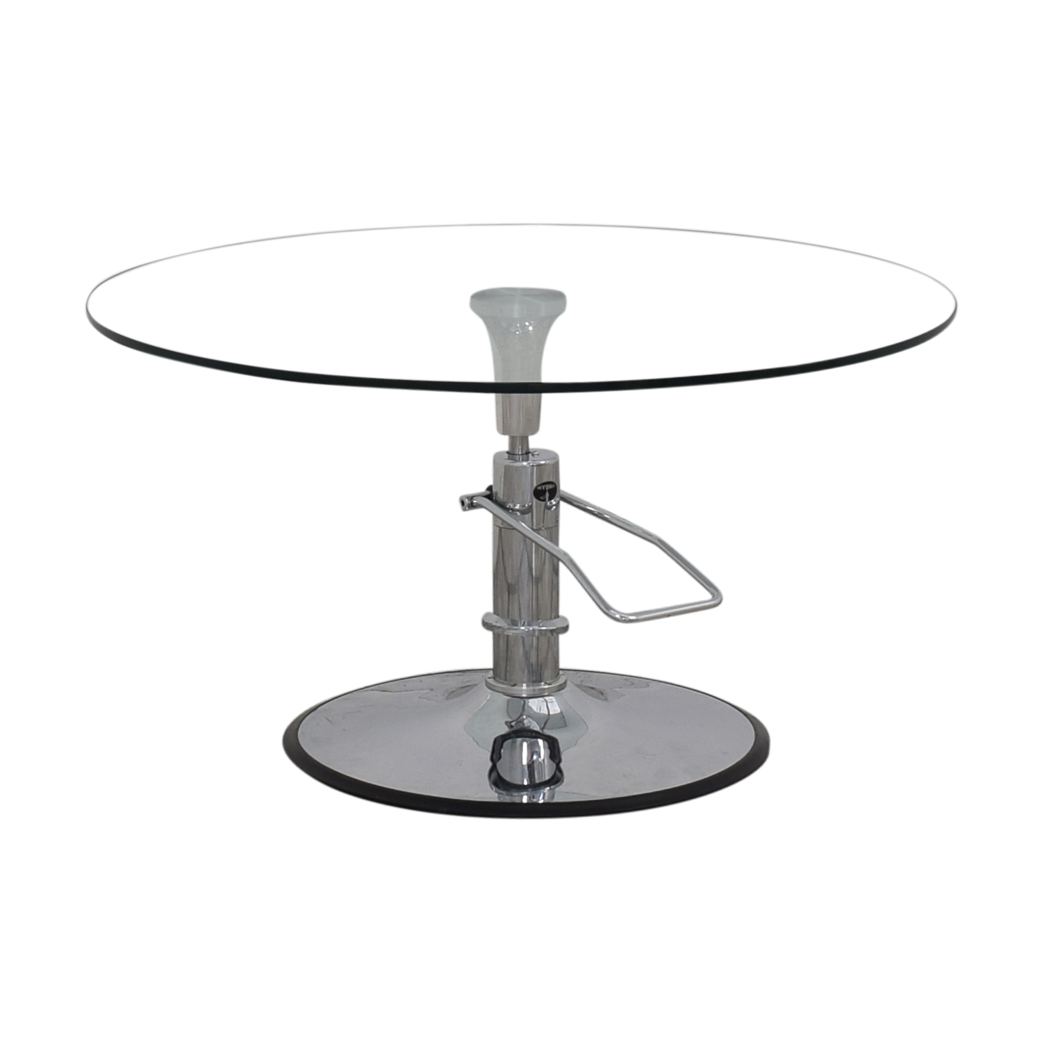 Hydra Designs Hydra Adjustable Glass Table discount