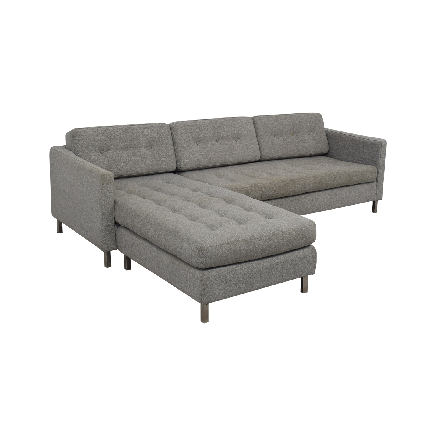 shop CB2 Ditto II Sectional Sofa CB2 Sectionals