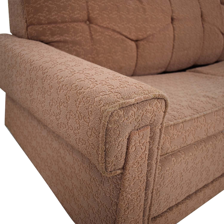 Vintage Mid Century Modern Sleeper Sofa on sale