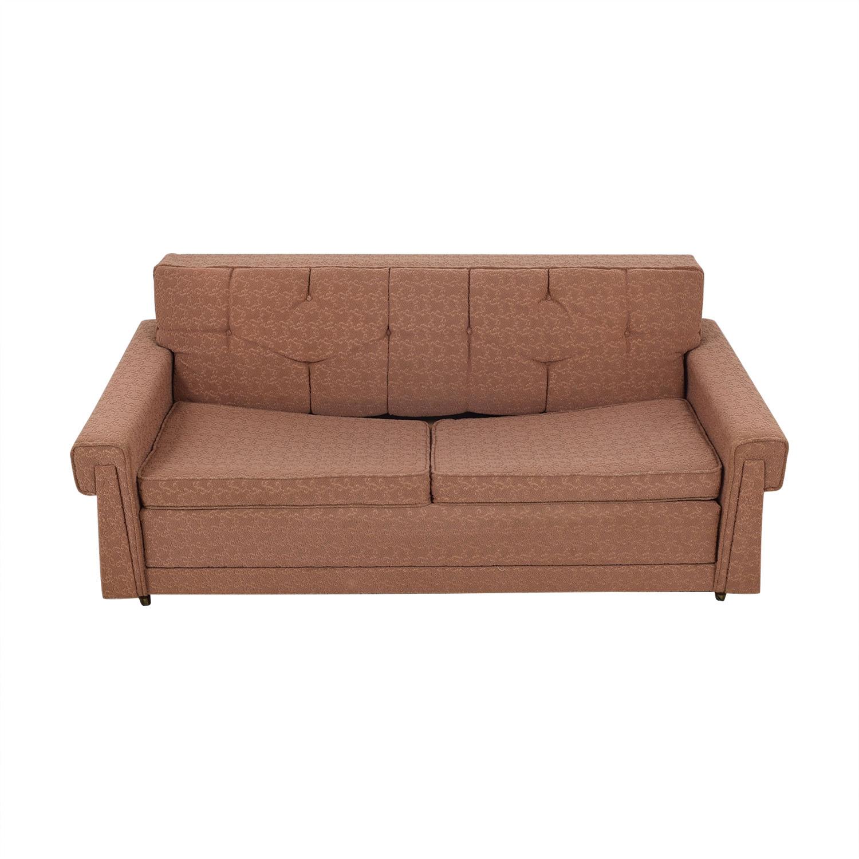 78% OFF - Vintage Mid Century Modern Sleeper Sofa / Sofas
