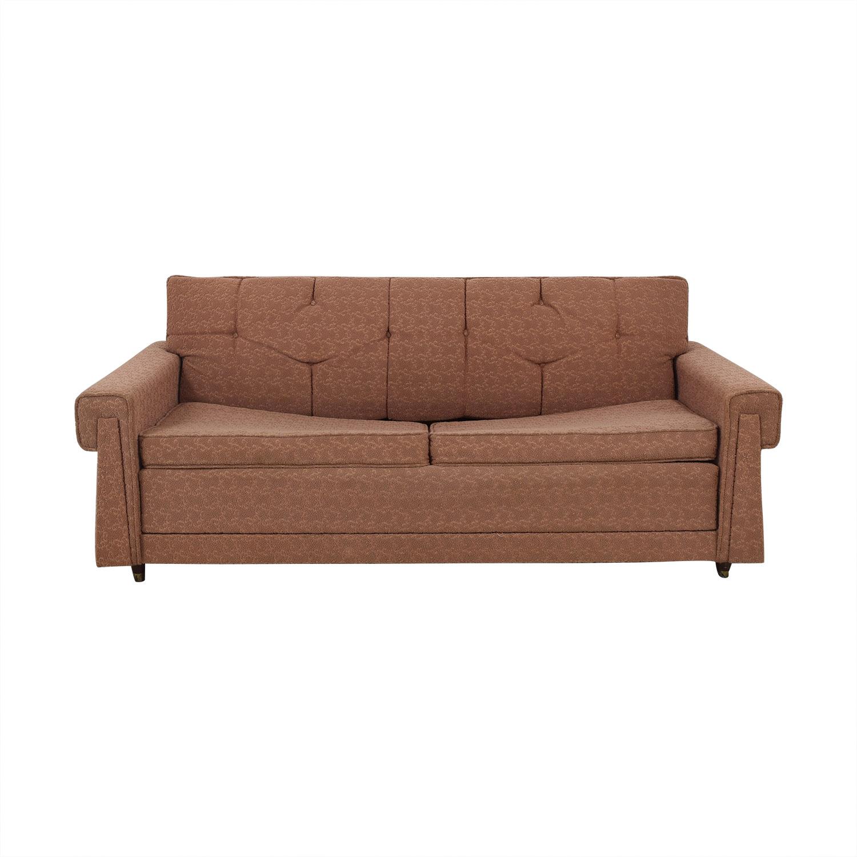 66% OFF - Vintage Mid Century Modern Sleeper Sofa / Sofas