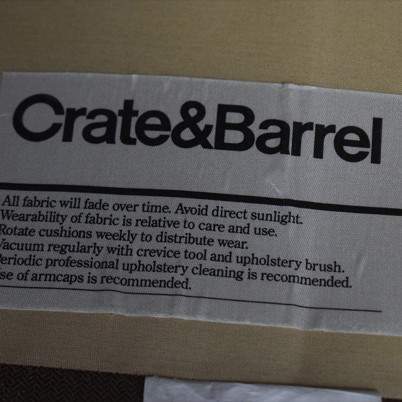 buy Crate & Barrel Axis II Loveseat Crate & Barrel Loveseats