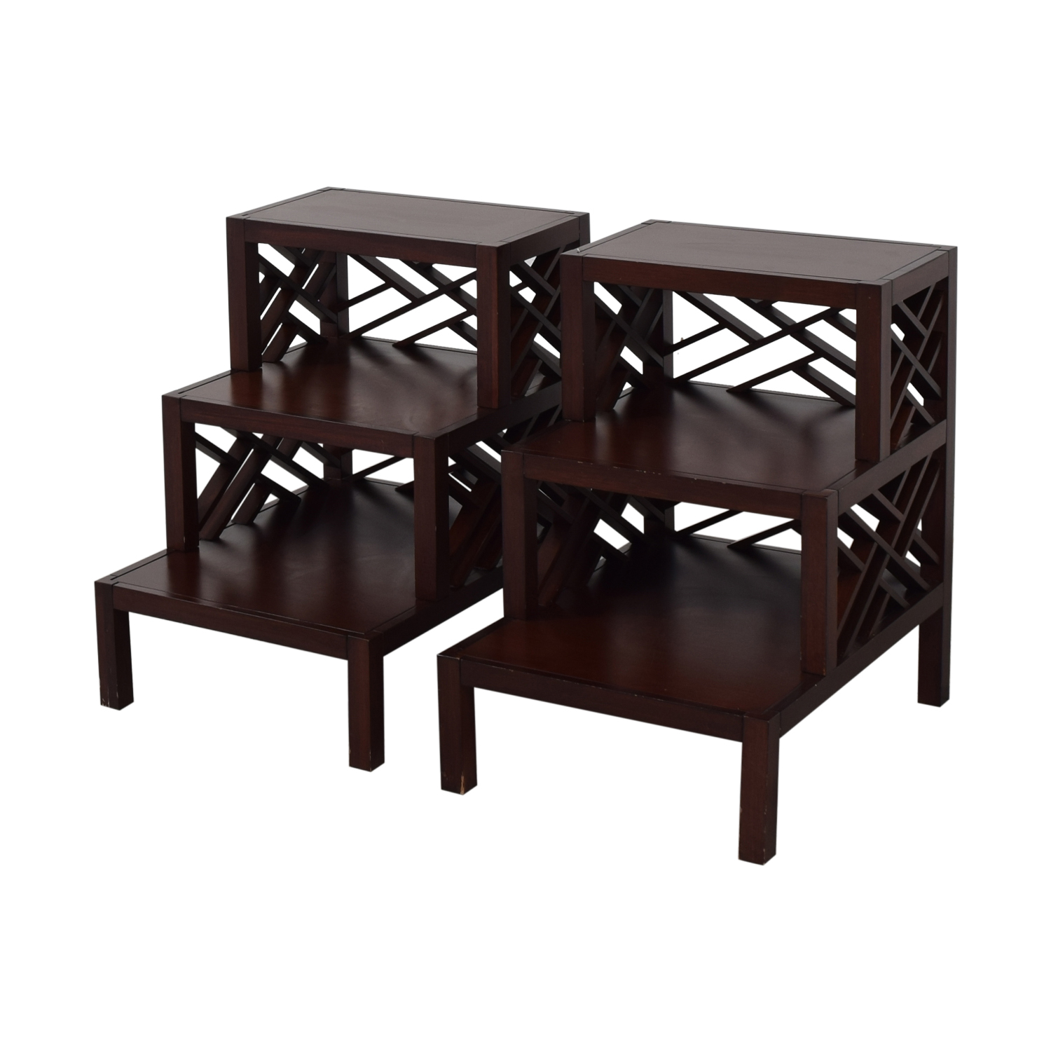 Williams Sonoma Accent Tables / End Tables