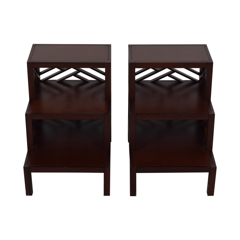 Williams Sonoma Williams Sonoma Accent Tables dark brown
