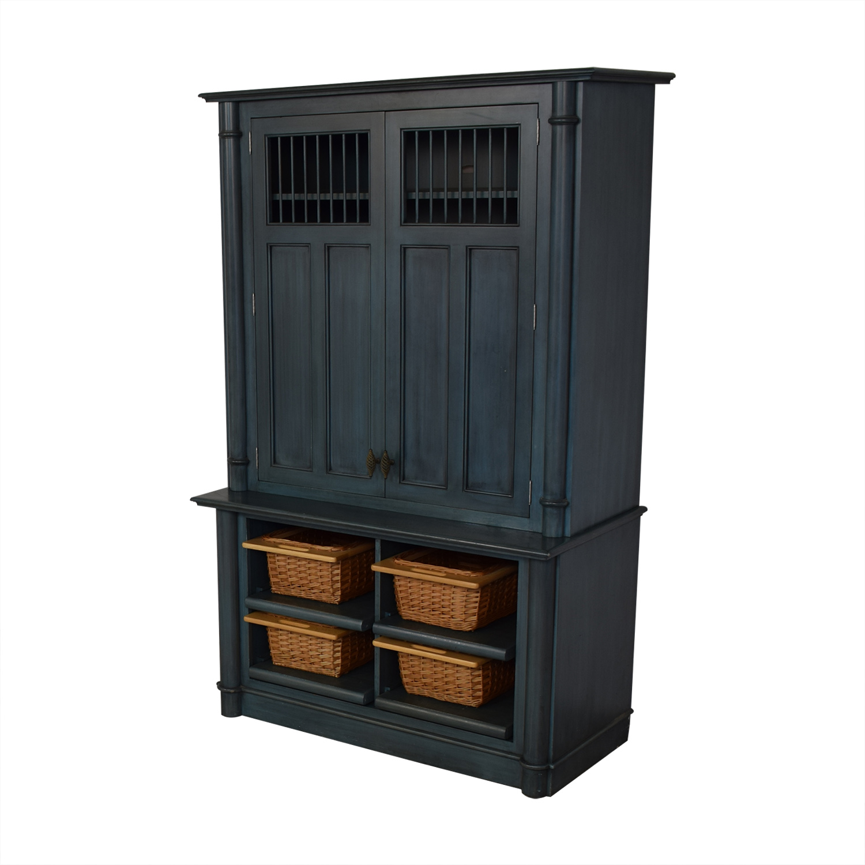shop Rutt Cabinetry Bilotta Storage Armoire Rutt Cabinetry Storage