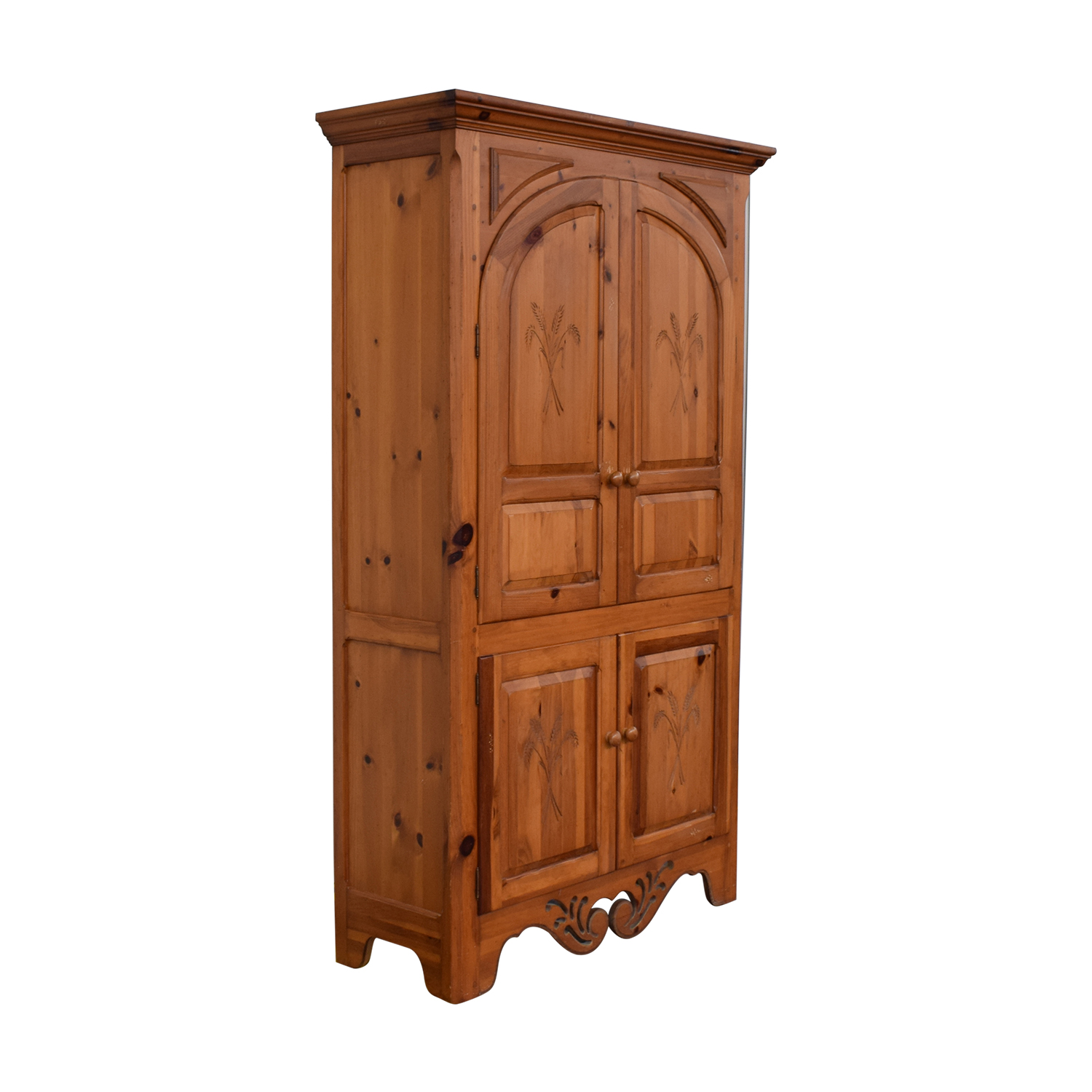 shop Thomasville Pine Armoire Thomasville Wardrobes & Armoires