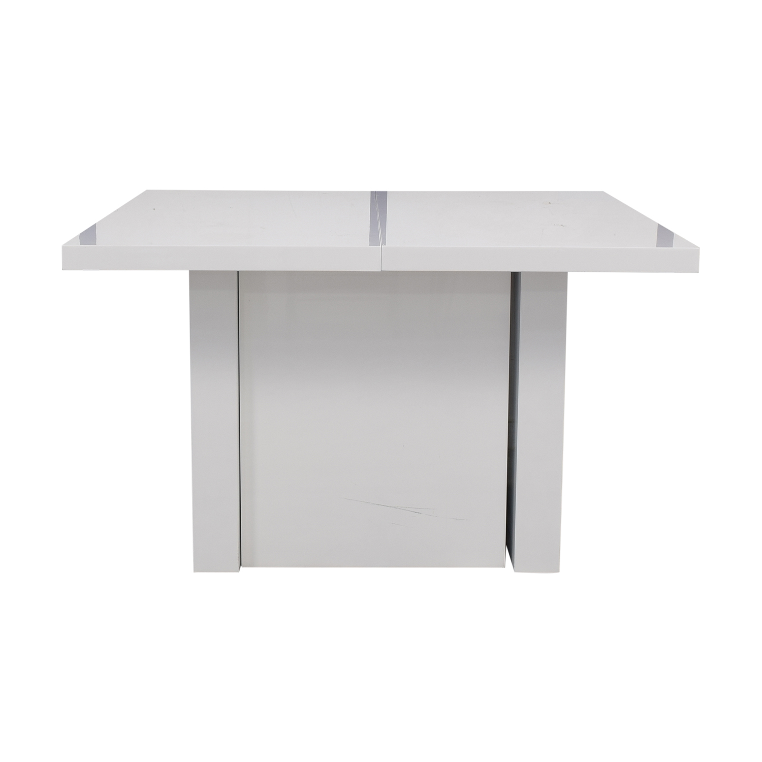 Orren Ellis Orren Ellis Stotfold White Extendable Table for sale