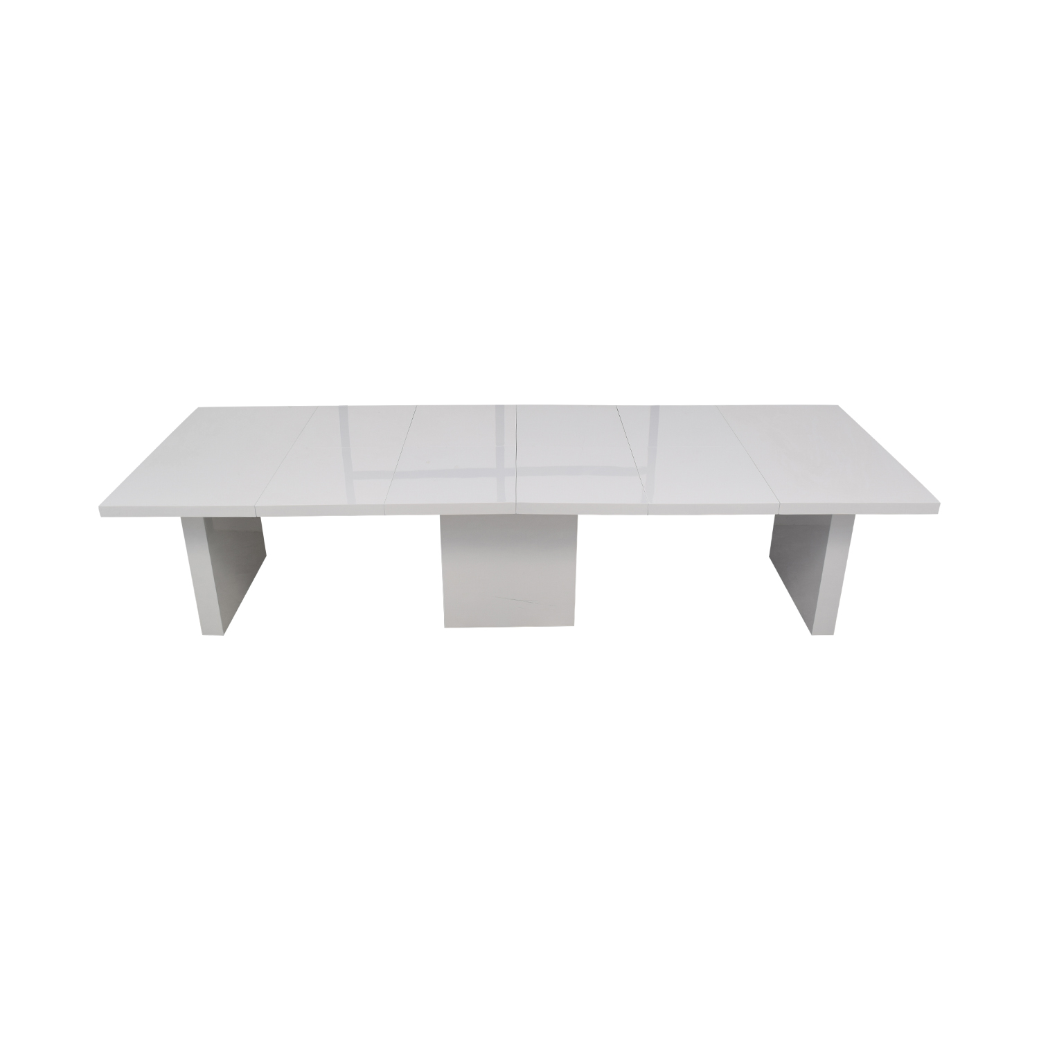 shop Orren Ellis Stotfold White Extendable Table Orren Ellis Dinner Tables