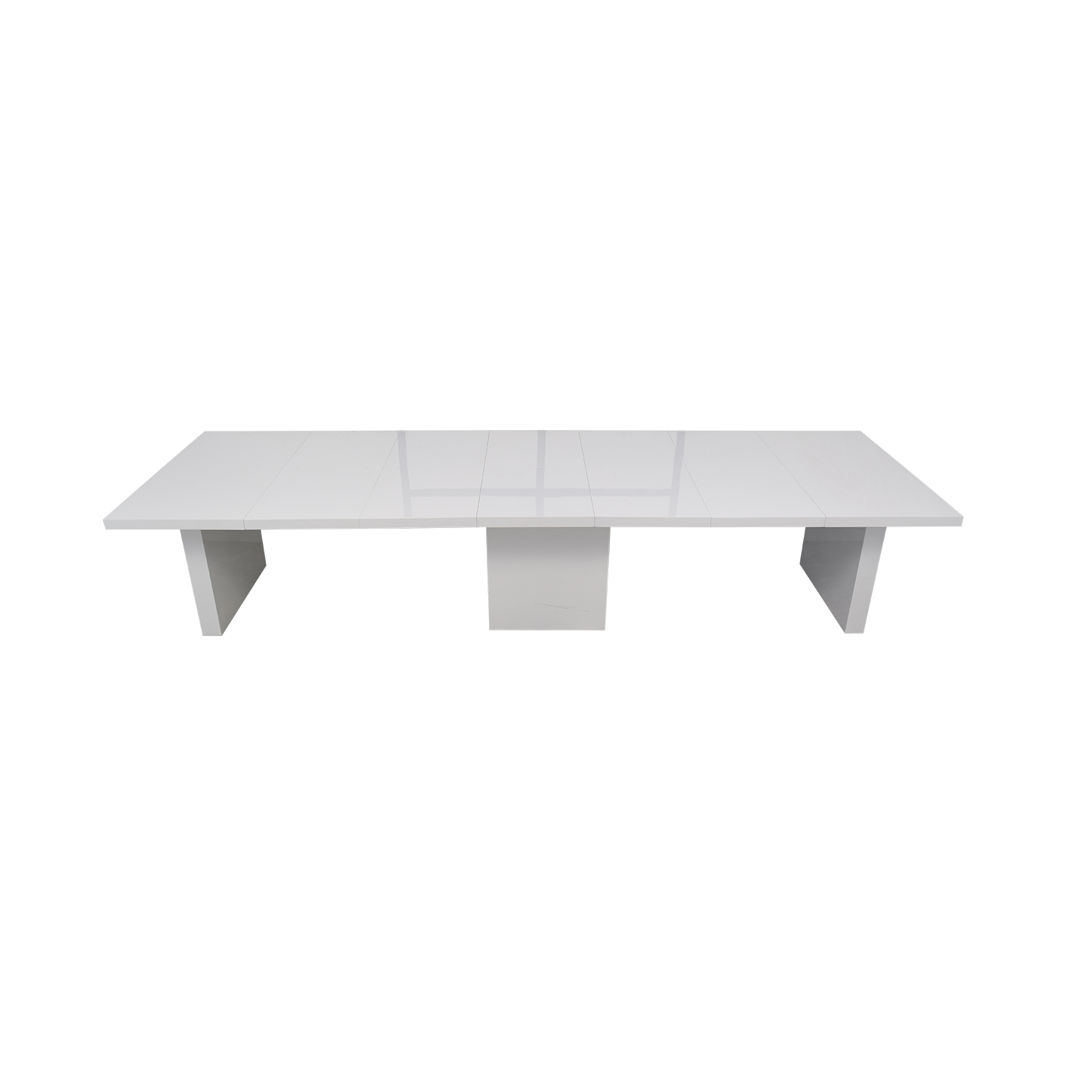 Orren Ellis Orren Ellis Stotfold White Extendable Table white