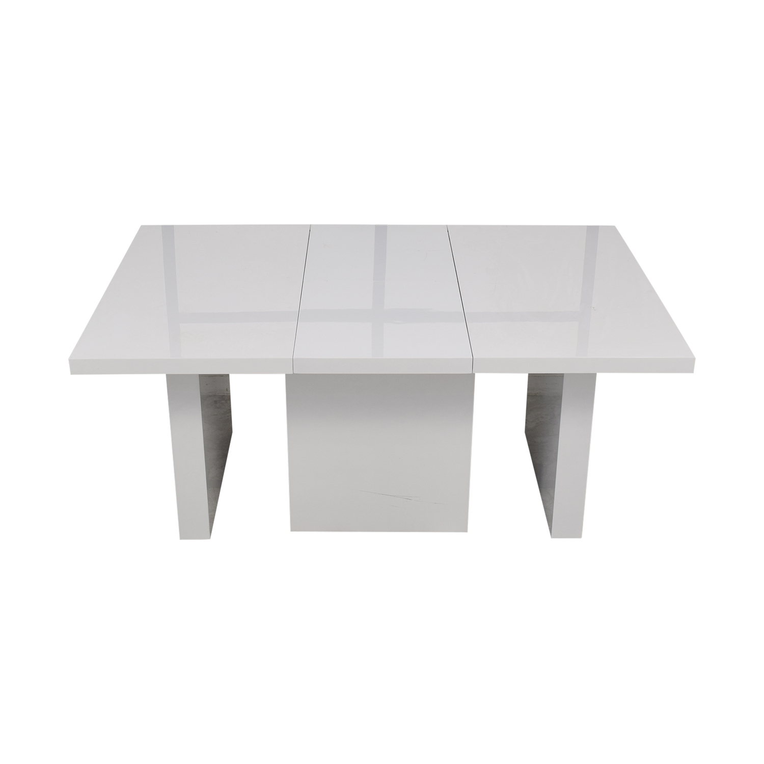 Orren Ellis Orren Ellis Stotfold White Extendable Table Tables