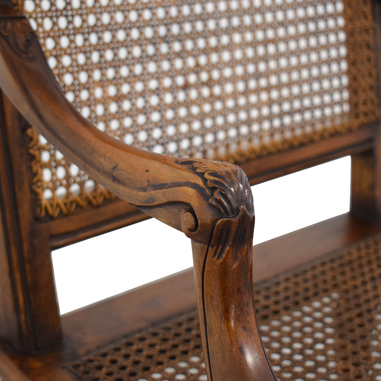 Decorative Carved Armchair nyc