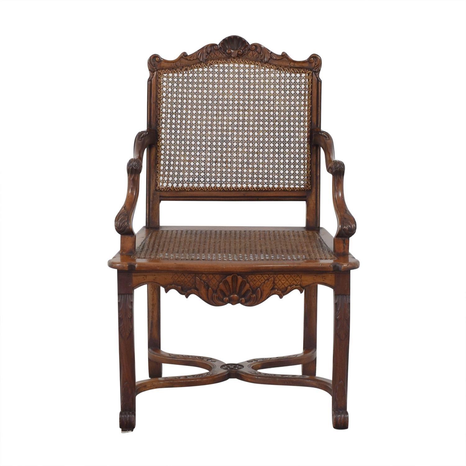 Decorative Carved Armchair