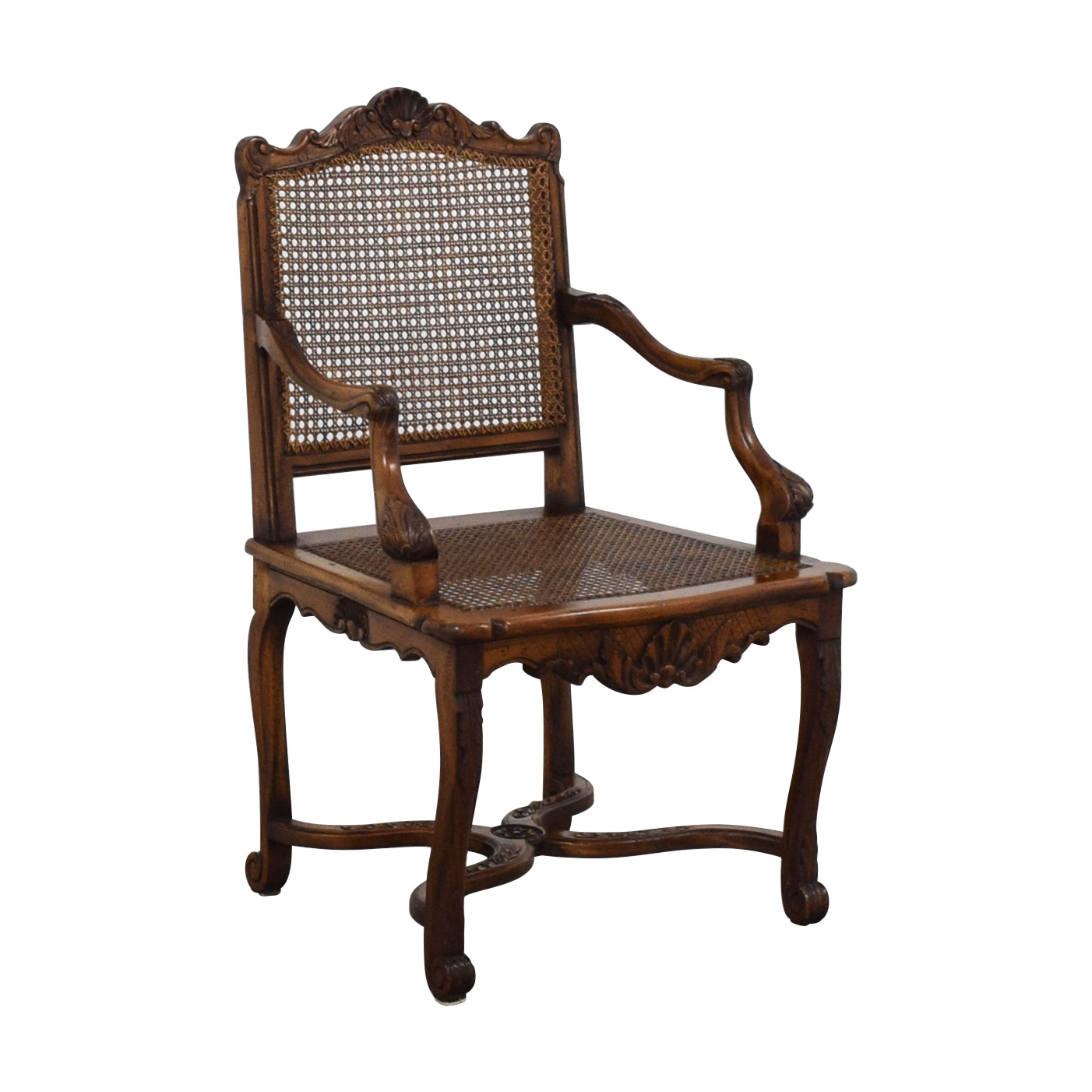 Decorative Carved Armchair on sale
